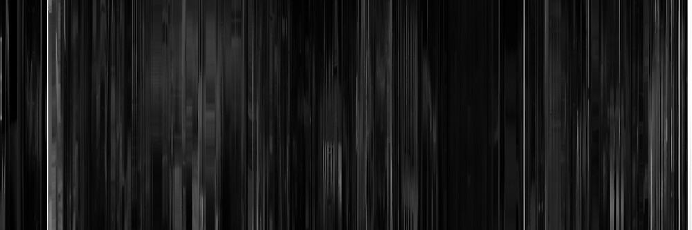 Moviebarcode: Eraserhead (1977) by moviebarcode
