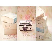 Vintage Collage  Photographic Print