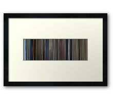 Moviebarcode: The Pledge (2001) Framed Print