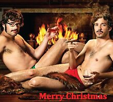 Flight Of The Conchords Christmas Xmas by Jiii