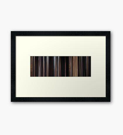 Moviebarcode: Ben-Hur (1959) Framed Print
