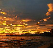 Spanish sunset by Dimitar K  Atanassov