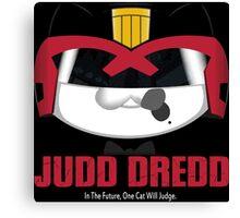 Judd Dredd Canvas Print