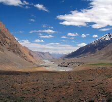 Spiti River Spiti Valley by SerenaB
