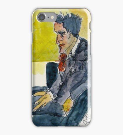 Man in a Dark Suit iPhone Case/Skin