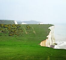 Seven Sisters National Park, East Sussex by Ludwig Wagner