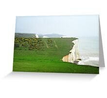 Seven Sisters National Park, East Sussex Greeting Card