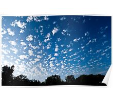 Clouds in Beverly Hills Poster