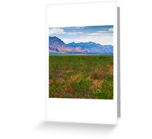 The Foothills Greeting Card