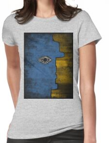 Picasso Face Womens Fitted T-Shirt