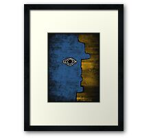 Picasso Face Framed Print