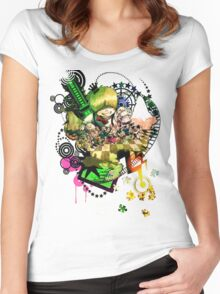 You Call This a Utopia? Women's Fitted Scoop T-Shirt
