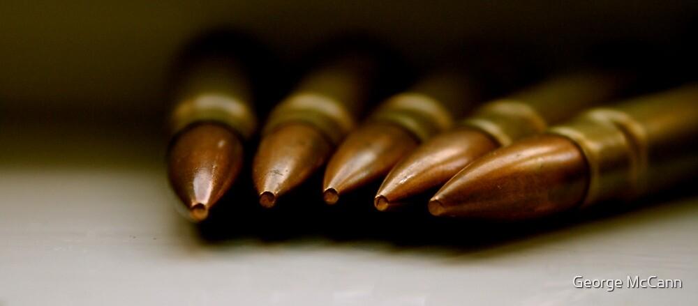 Bullets from World War 2 by George McCann