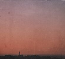 Dirty Sunset by Denise Abé