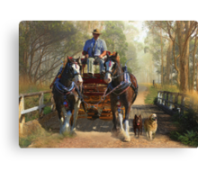 At Durdidwarrah Crossing Canvas Print