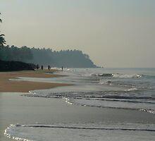 Black Beach Varkala by SerenaB