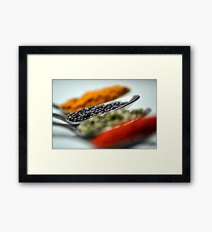 spice up Framed Print