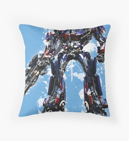 Optimus Throw Pillow