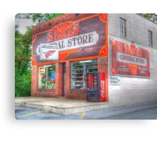Stokes General Store Canvas Print