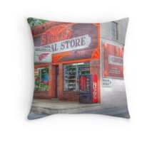 Stokes General Store Throw Pillow