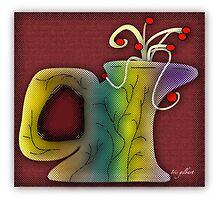 Little glass jug...... by IrisGelbart