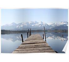 The Lake at Hopfensee Poster