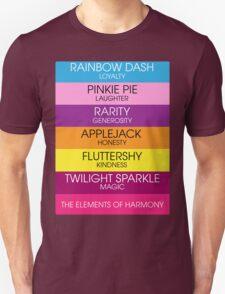 Minimalist Elements of Harmony V2 Unisex T-Shirt