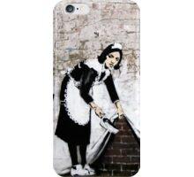 Banksy - Sweep it under the carpet N°1 iPhone Case/Skin
