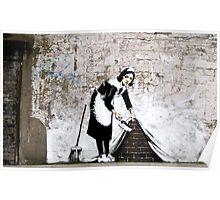 Banksy - Sweep it under the carpet N°1 Poster