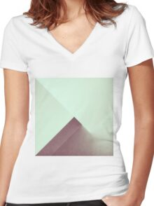 RAD XI Women's Fitted V-Neck T-Shirt