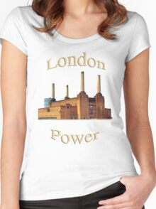 London Power Women's Fitted Scoop T-Shirt