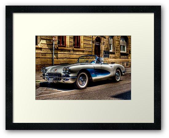Corvette Oldtimer HDR by wulfman65