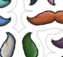 I mustache you a colorful question. Sticker