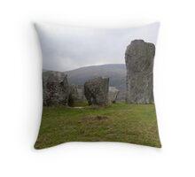 Uragh Stone Circle Throw Pillow
