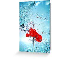 Primary splash Greeting Card