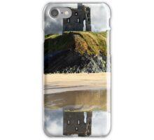 wild atlantic way castle ruins and beach iPhone Case/Skin
