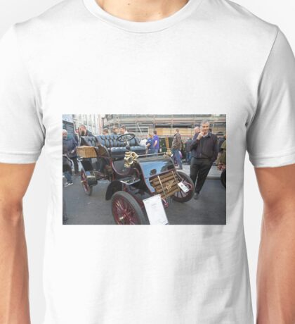 A vintage car in the Regent Street Motor show Unisex T-Shirt