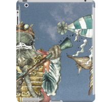 Steampunk Bird Sky Patrol iPad Case/Skin