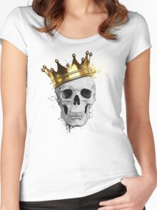 Royal Skull Women's Fitted Scoop T-Shirt