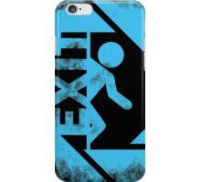 BLUE EXIT  iPhone Case/Skin
