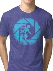 BLUE EXIT  Tri-blend T-Shirt