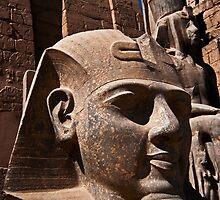 Luxor Temple by eddiechui