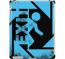BLUE EXIT  iPad Case/Skin