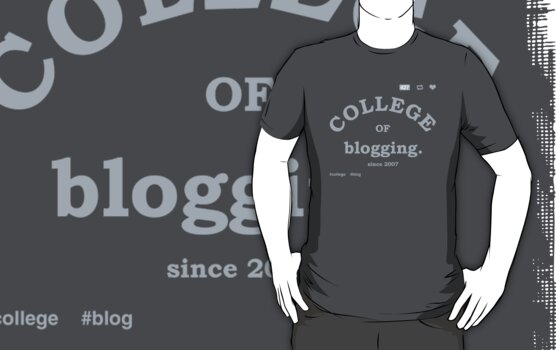 COLLEGE OF BLOGGING by bomdesignz