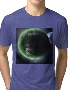 The Green Planet  Tri-blend T-Shirt
