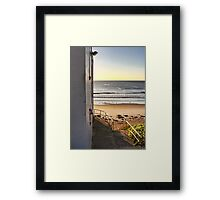 The Clubhouse Steps Framed Print