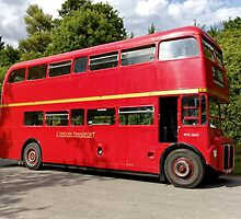 Former London Transport Routemaster Bus RML2665 SMK 665F by Andrew Harker