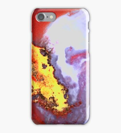 Alien Kiss (Moss Agate) iPhone Case/Skin