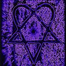 Violet Thoughts Heartagram by Jussi Lovewell