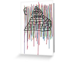 Coffin Squad Pyramid Colours Greeting Card